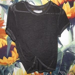Faded black t-shirt from Abercrombie